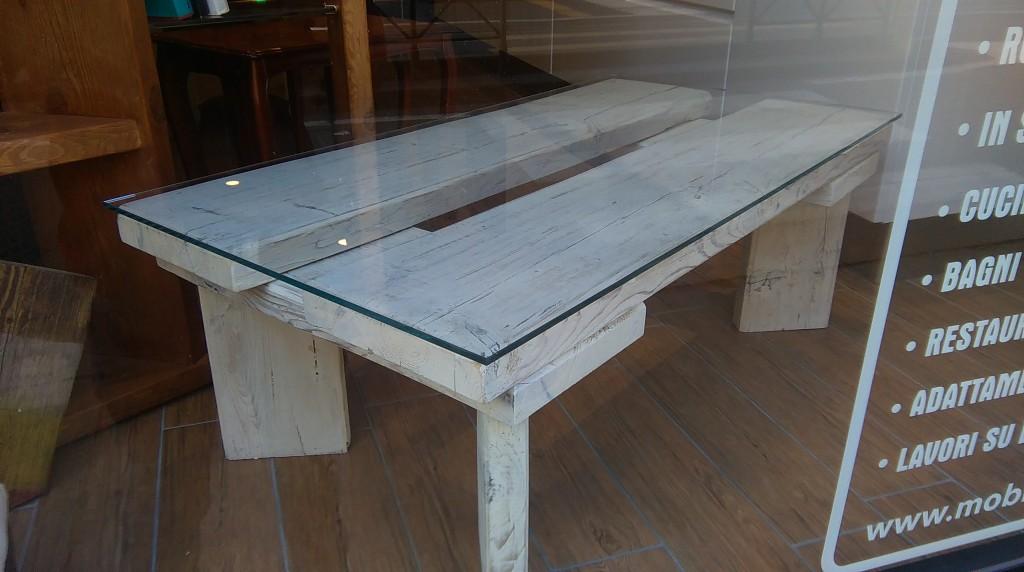 Tavolo Rustico Salotto: Tavolino legno rustico chic tavoli ...